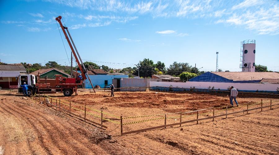 Imagem: Construcao de Unidade Basica de Saude Prefeitura retoma obra de construção da Unidade Básica de Saúde do Jardim Liberdade