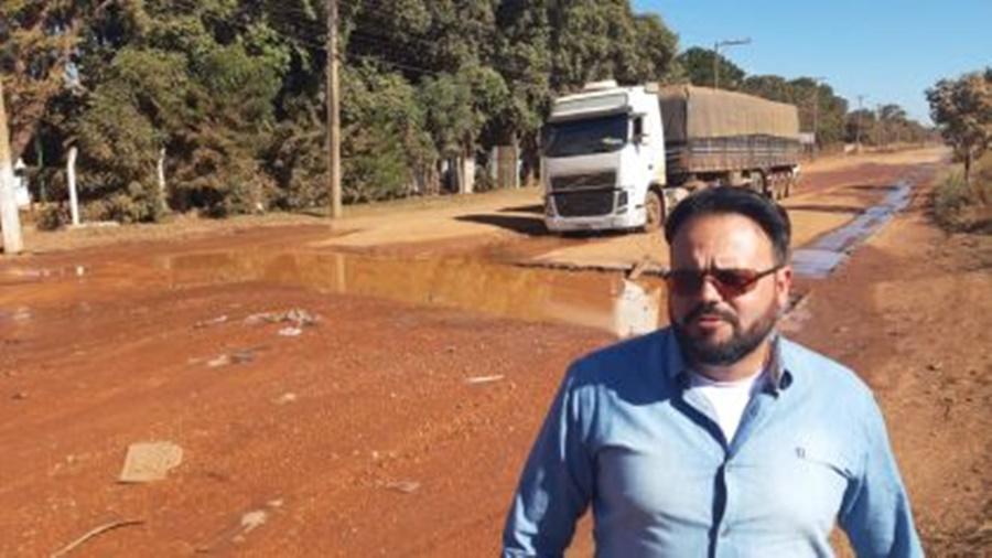 Imagem: Deputado Claudinei Deputado Claudinei propõe soluções ao Distrito Industrial Antigo de Rondonópolis