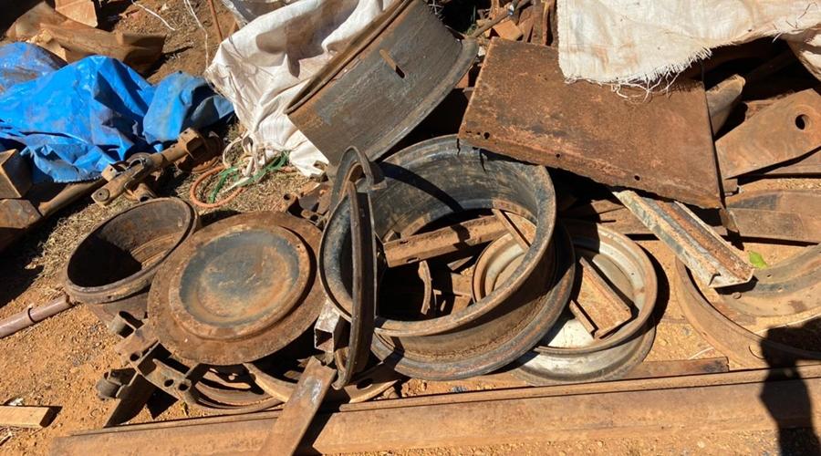 Imagem: IMG 20210719 WA0001 Peças furtadas de empresa são recuperadas e receptador é preso