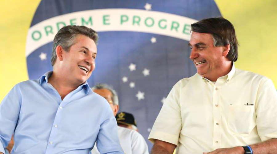 Imagem: Mauro bolsonaro Ex-senador confirma vinda de Bolsonaro a Cuiabá em setembro