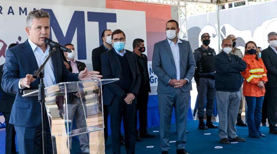 Imagem: Mauro incend Governo entrega viaturas e reforça combate aos incêndios florestais