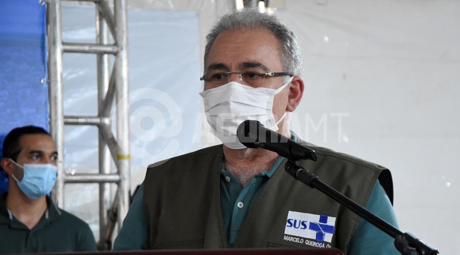 Imagem: Minsistro da Saude Marcelo Gueiroga Queiroga diz que vacinação de adolescentes foi intempestiva e critica estados