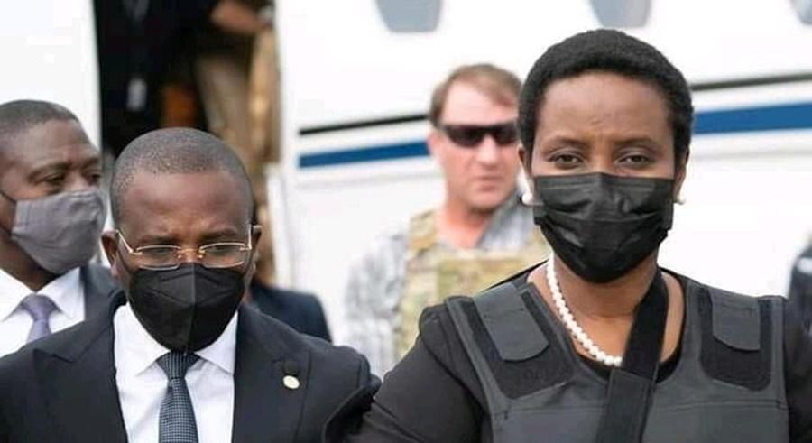 Imagem: Mulher de presidente do Haiti Viúva do presidente do Haiti recusa dinheiro público para funeral