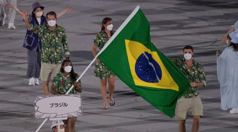 Imagem: Olimpiada japao abertura Brasil Olímpiadas começam oficialmente com cerimônia inesquecível