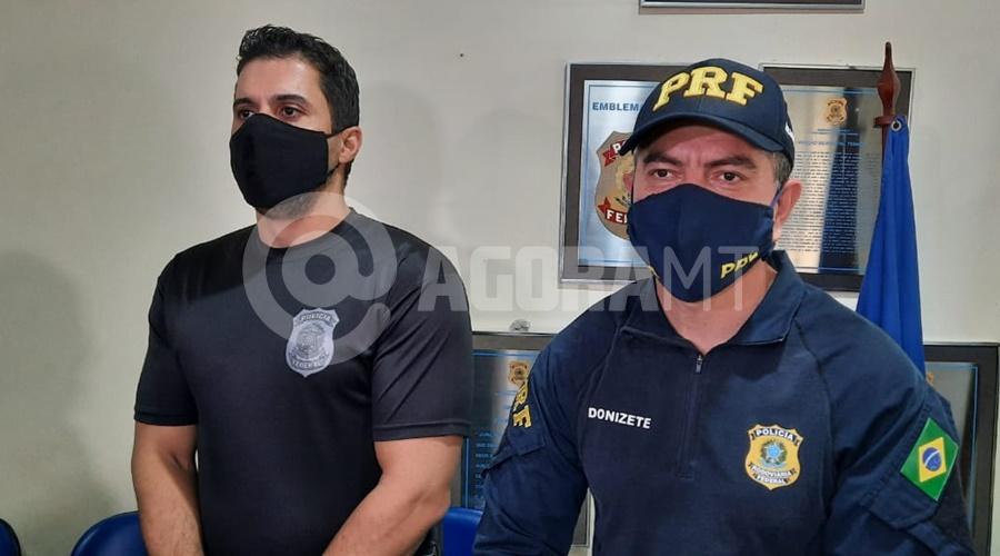 Imagem: Policial Federal e Policial Rodoviario Federal Preso pela PRF era 'cabeça' de facção criminosa no Amapá