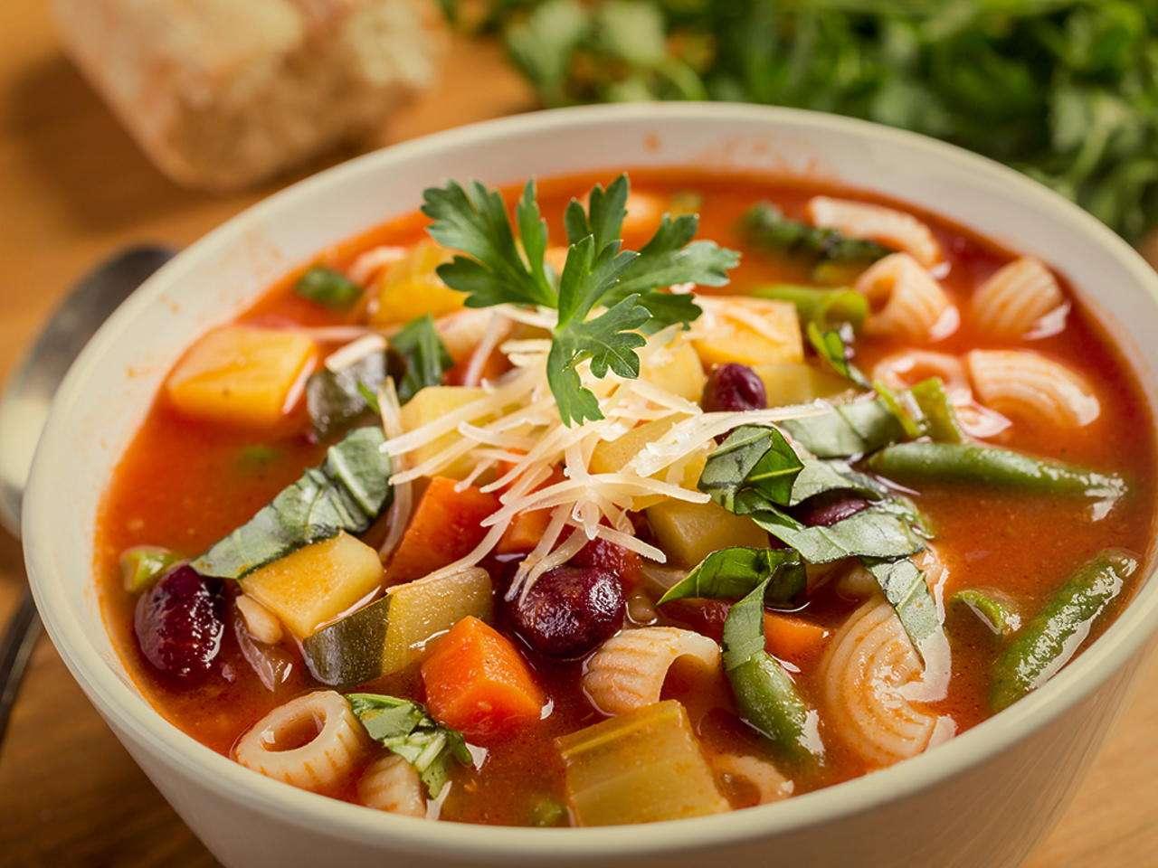 Imagem: Sopa de Legumes Com Macarrao 3 Aprenda fazer uma sopa de legumes deliciosa