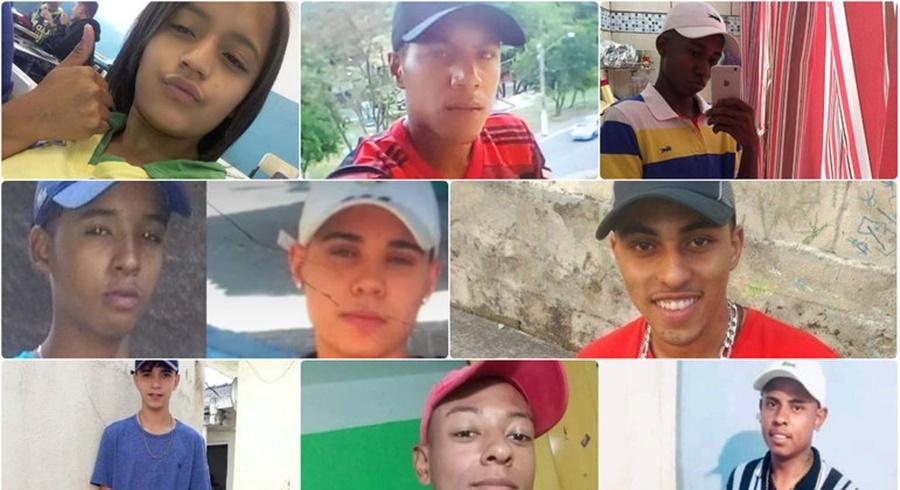 Imagem: Vitimas que morreram na favela MP denuncia 13 PMs por morte de jovens em favela de Paraisópolis