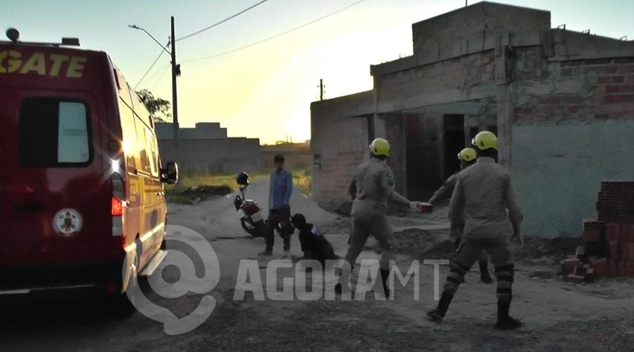 Imagem: a7742aeb 7dcb 462c 8fad 6b782fb75d9b Surtado   Homem foge mesmo baleado após esfaquear e manter vítima refém