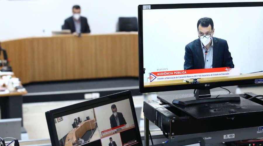 Imagem: audiencia ludio Deputados cobram nomeação de aprovados em concurso da Seduc-MT