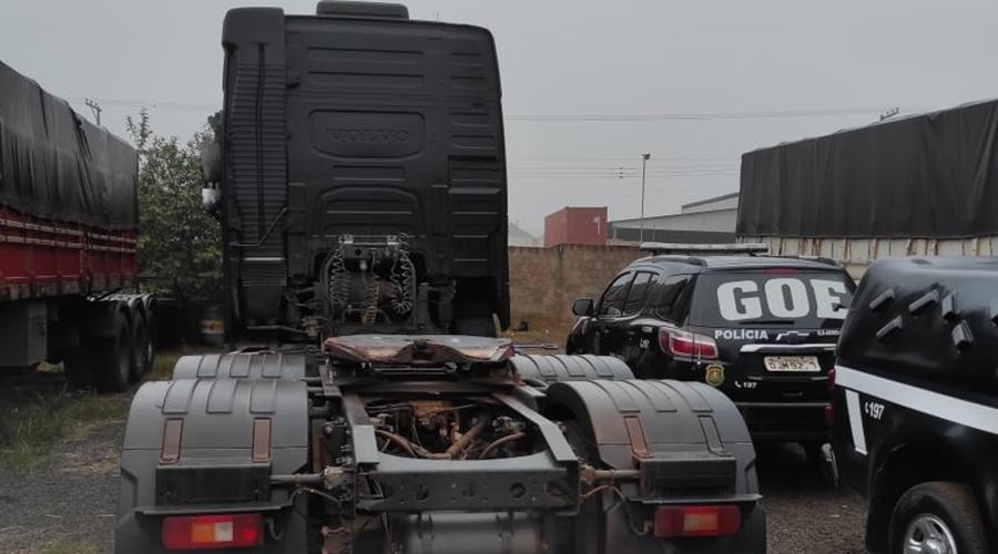 Imagem: capa safra Organização criminosa é alvo de operação da Polícia Civil