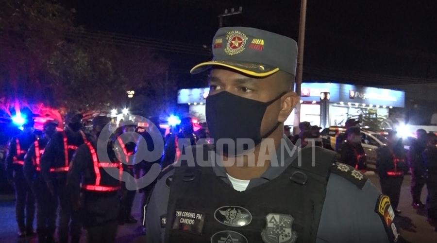 Imagem: coronel candido PM autua mais de 60 pessoas por descumprir normas anti-Covid