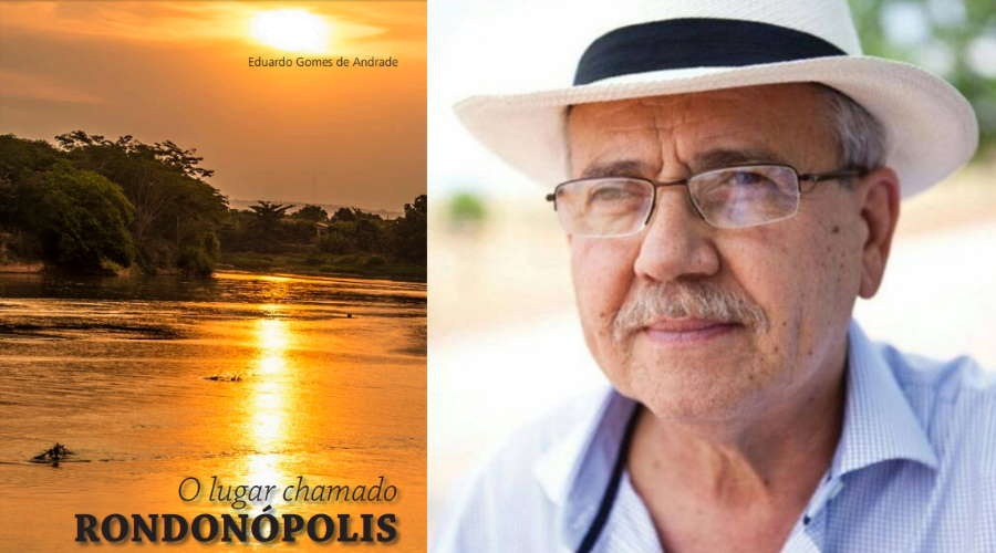 Imagem: eduardo gomes Livro conta história de padre 'santo' e outras personalidades de Rondonópolis
