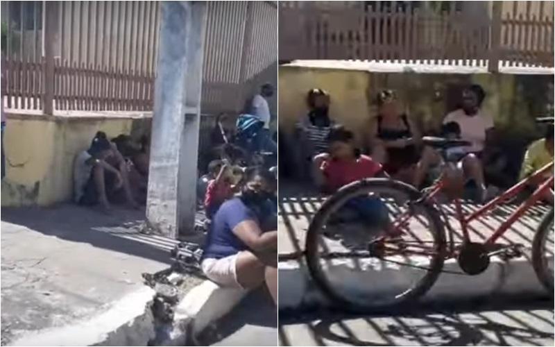 """Imagem: fila ossinhos """"Situação é lamentável, mas Governo faz a sua parte"""", diz Mendes"""