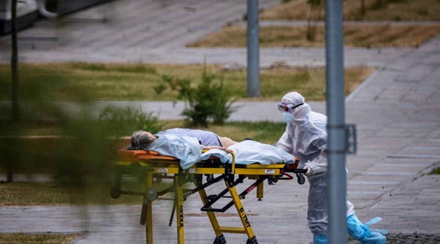 Imagem: mortos Rússia descarta confinamento, apesar do 4º recorde de mortes