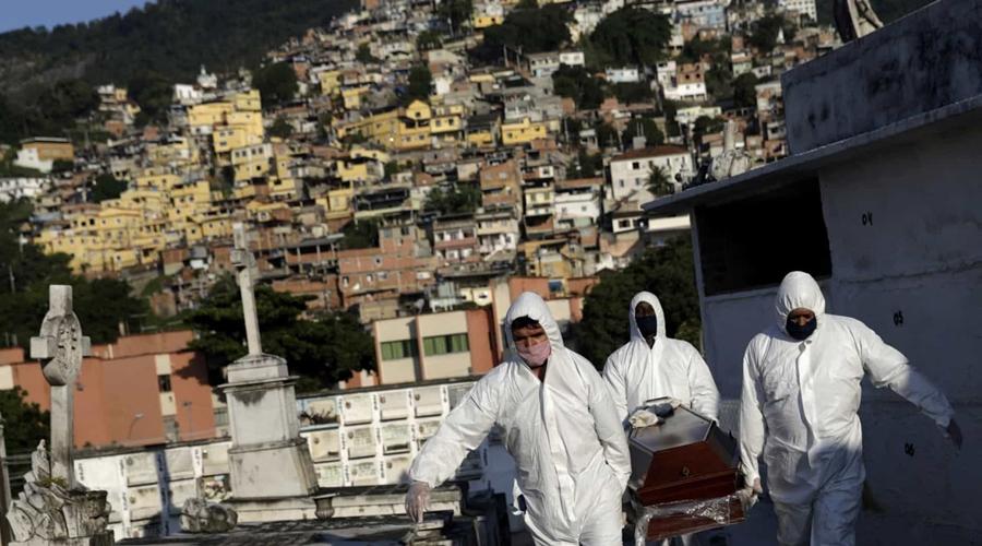 Imagem: naom 5ef65956b125c Brasil registra 754 mortes por Covid em 24h e supera 525 mil óbitos