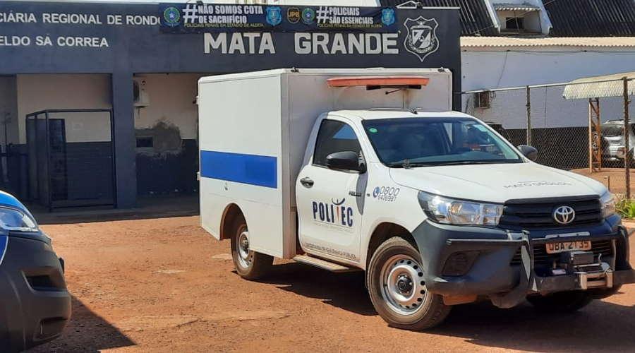 Imagem: politec matagrande Detento é encontrado morto na penitenciária da Mata Grande