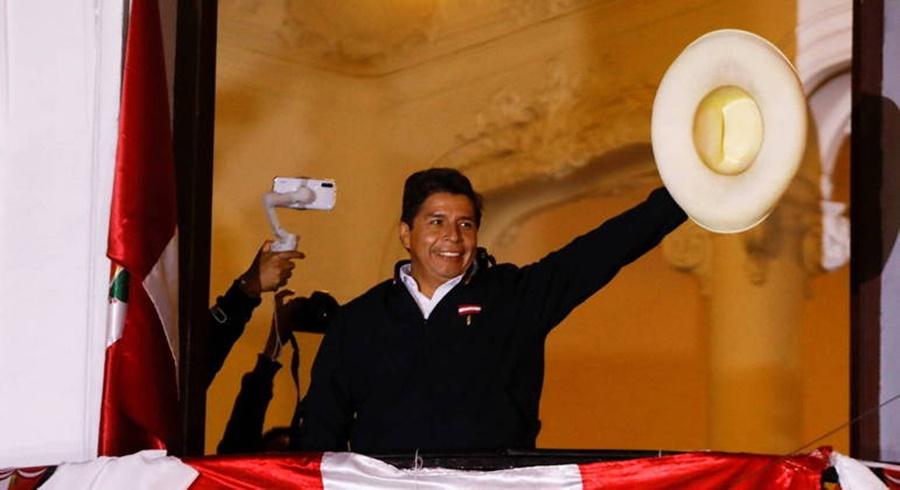 Imagem: presidente do Peru Pedro Castillo é o novo presidente do Peru