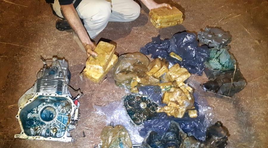 Imagem: prf drogas Ação conjunta entre unidades da PRF termina com apreensão de cocaína