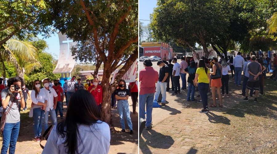 Imagem: protest bolsonaro roo 0307 Casario ganha memorial pelas vítimas de Covid-19