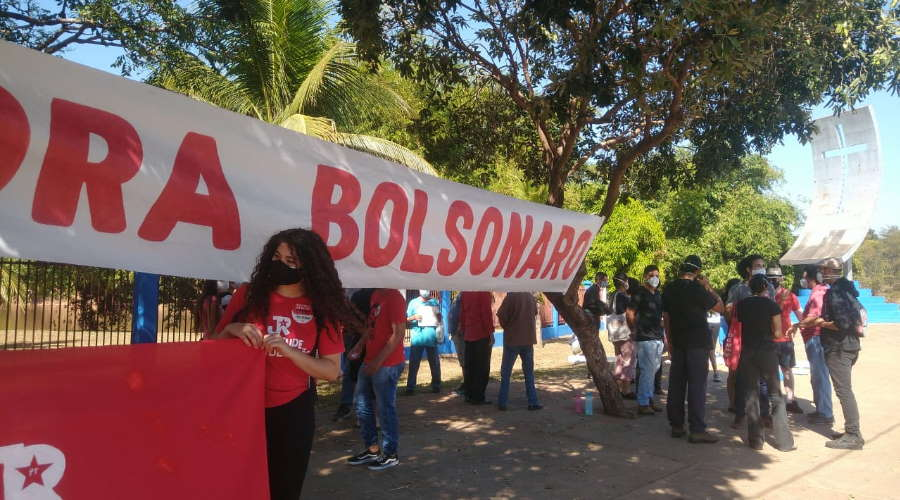 Imagem: protest bolsonaro roo 0307 21 Casario ganha memorial pelas vítimas de Covid-19