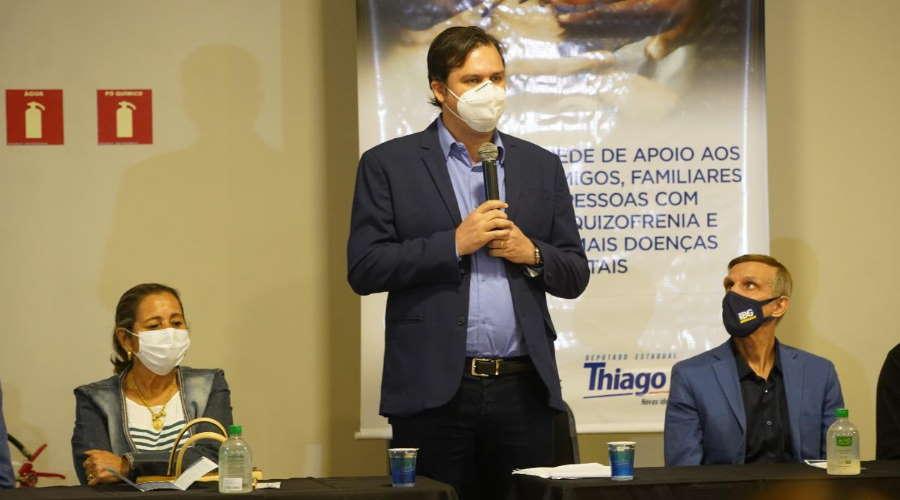Imagem: rede esquizofrenia thiago Evento em Rondonópolis marca criação de Rede de Apoio às Pessoas com Esquizofrenia