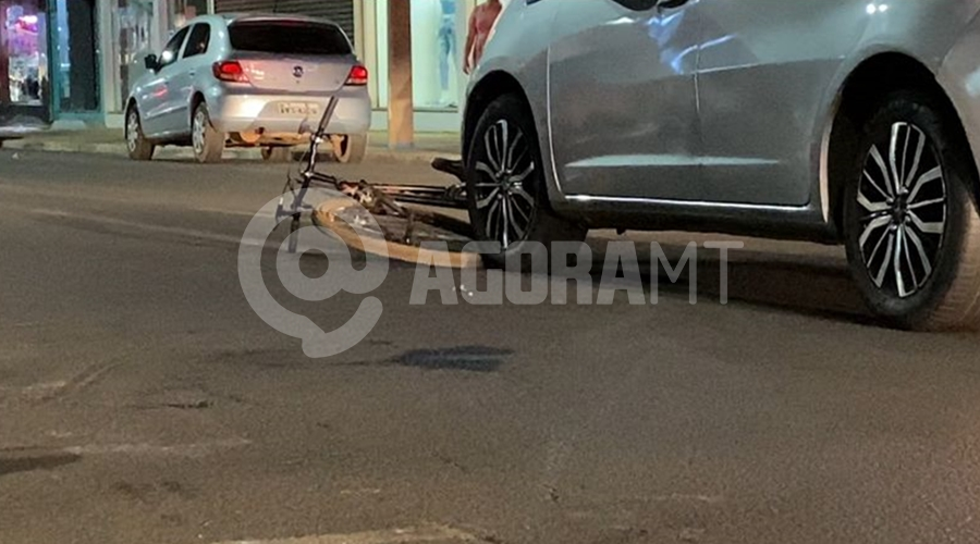 Imagem: 13dae895 3099 4e30 aef2 4c9ec55bd0aa Ciclista é atropelada ao tentar atravessar faixa de pedestre