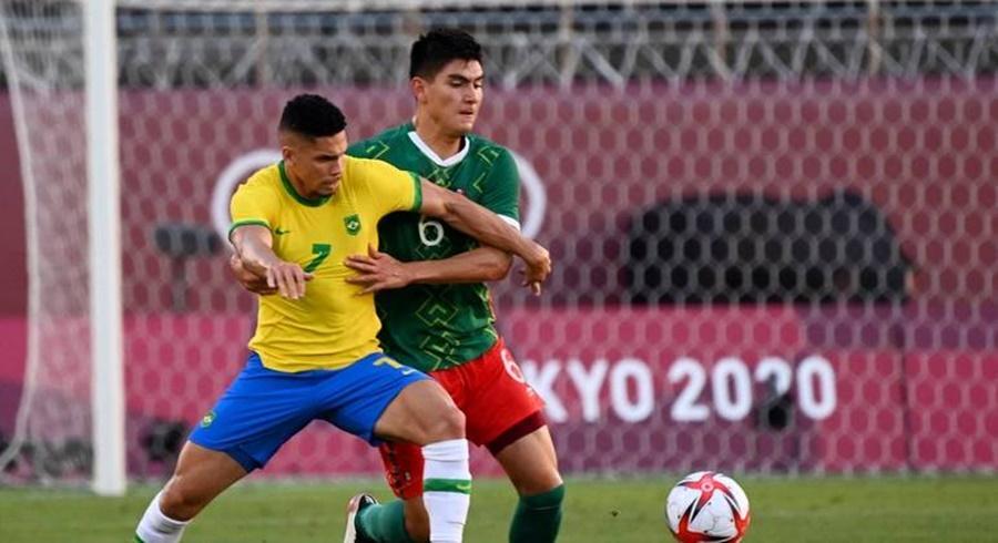 Imagem: Brasil e MEXICO Brasil vence México nos pênaltis e irá lutar pelo ouro do futebol em Tóquio