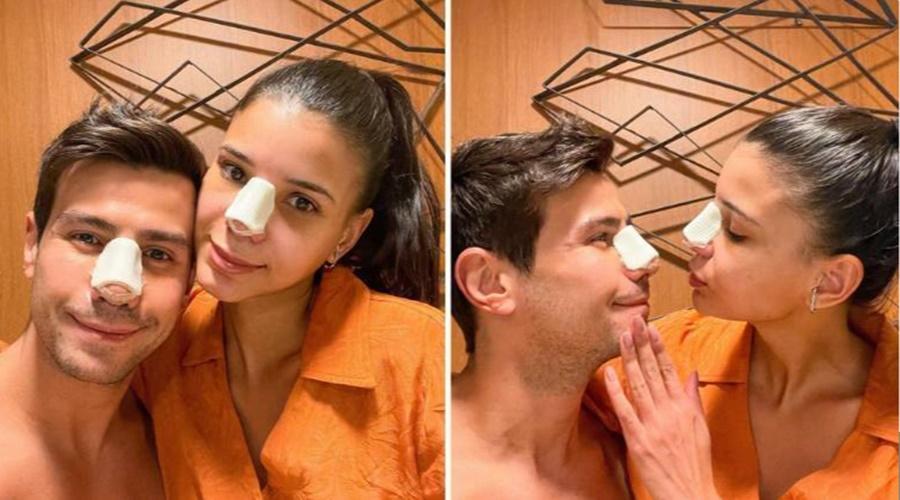 Imagem: Jaqueline Mariano e Jakelyne Oliveira fazem rinoplastias juntos