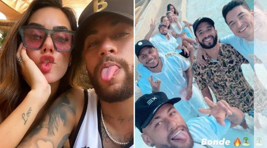 Imagem: Neymar romance Influencer posta foto com Neymar e aumenta boatos