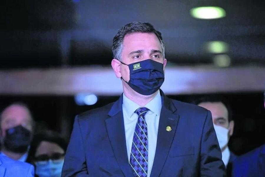 Imagem: Pacheco Congresso pode derrubar veto à distribuição de absorventes higiênicos