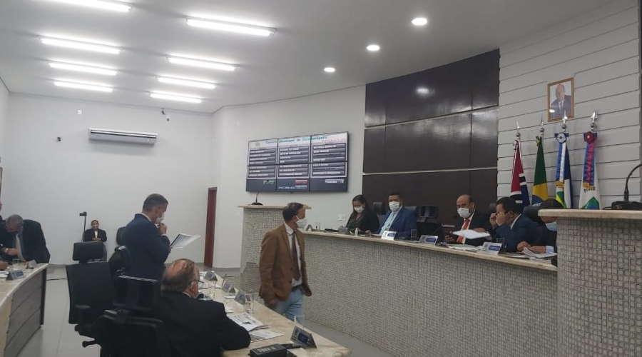 Imagem: camara sessao Câmara adia votação de projeto para criar nova JARI em Rondonópolis