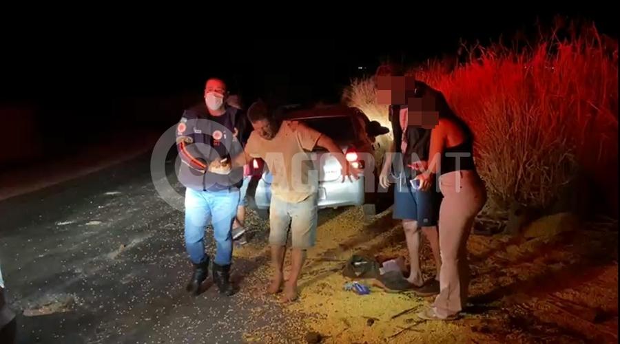 Imagem: e72ba585 a483 4241 9a68 378765202680 Carreta fica sem freios e motorista se joga do veículo na MT-358