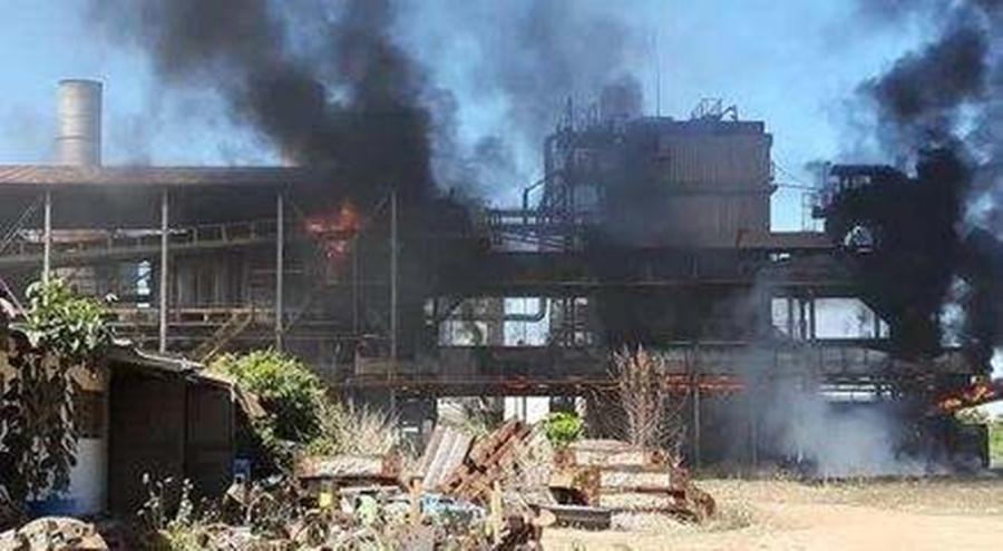 Imagem: explosao em usina MPT pede que interdite setor produtivo de usina de etanol de Jaciara após incêndios