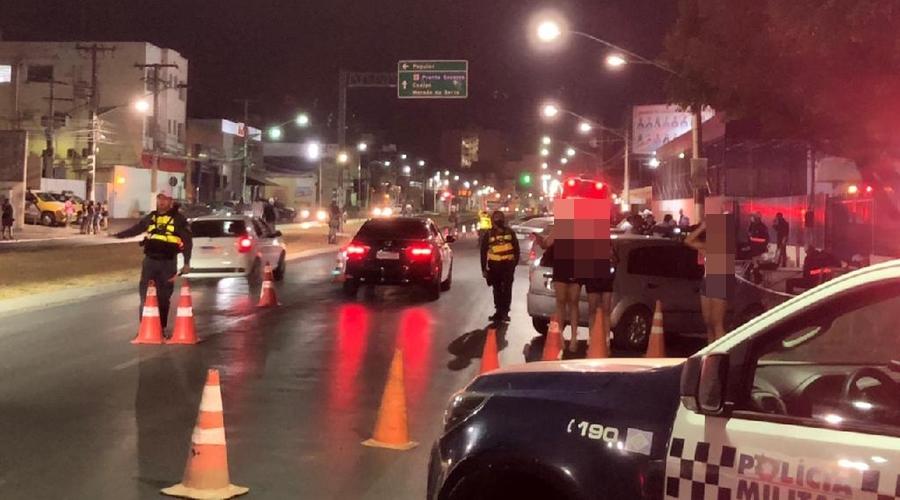 Imagem: lei seca Lei Seca | Dez motoristas são presos por embriaguez ao volante durante
