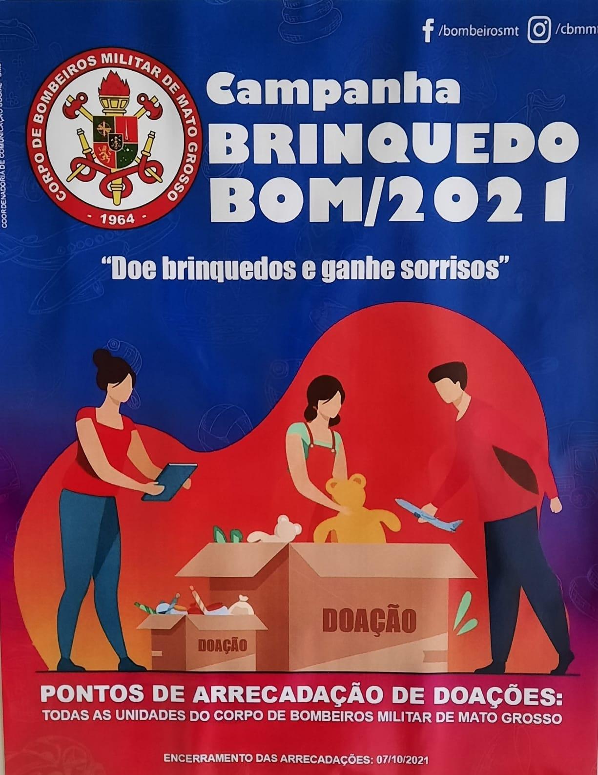 Imagem: 04ac554d 95f5 475f b699 720c91cd1173 Campanha 'Brinquedo BOM' recebe doação do projeto 'Faça uma Criança Feliz'