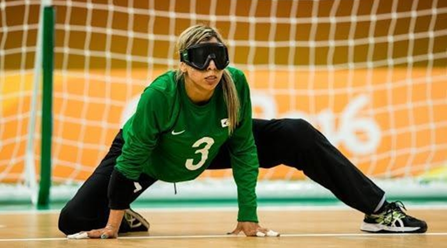 Imagem: Ana goalball Esportistas de Mato Grosso disputam Superliga da Europa de Goalball