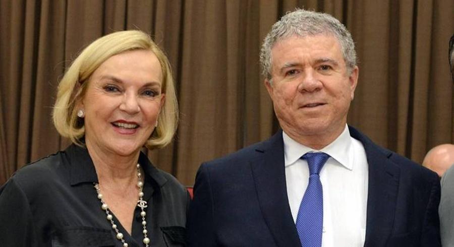 Imagem: Celso Silveira Mello Filho e a mulher Maria Luiza Meneghel Silveira Mello morreram no acidente Saiba quem são as vítimas do acidente de avião em Piracicaba