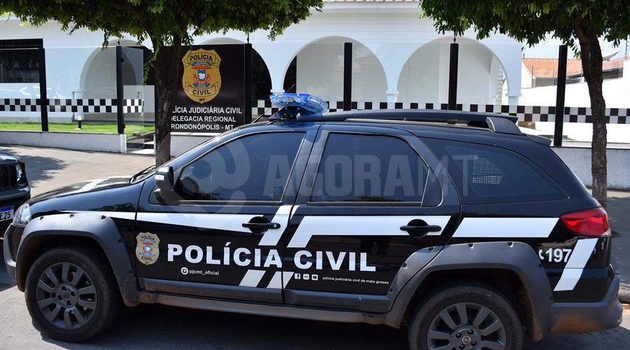 Imagem: Delegacia Regional Roo Contador de Rondonópolis é apontado como mandante de latrocínio ocorrido contra advogado
