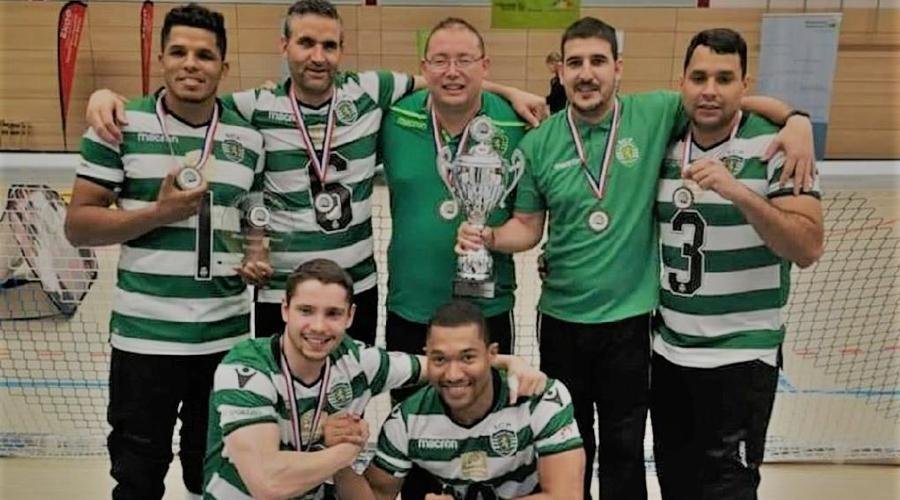 Imagem: Esportistas premiacao sporting portugal Esportistas de Mato Grosso disputam Superliga da Europa de Goalball