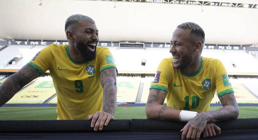 Imagem: Gabi Gol e Neymar Gabigol convida Neymar para jogar no Flamengo: 'Esperando você'