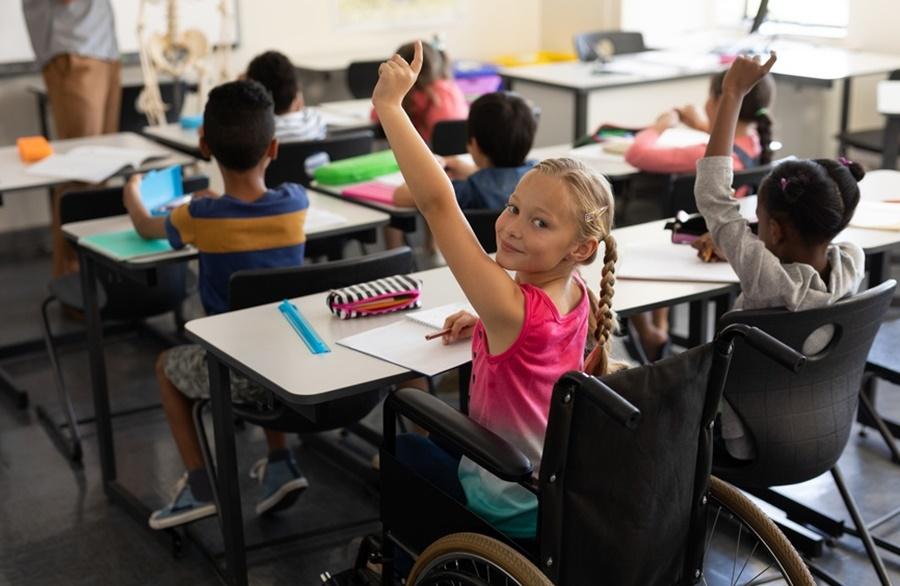 Imagem: Inclusao educacional infantil Inclusão escolar é um dos passos para garantir a educação igualitária para todas as crianças