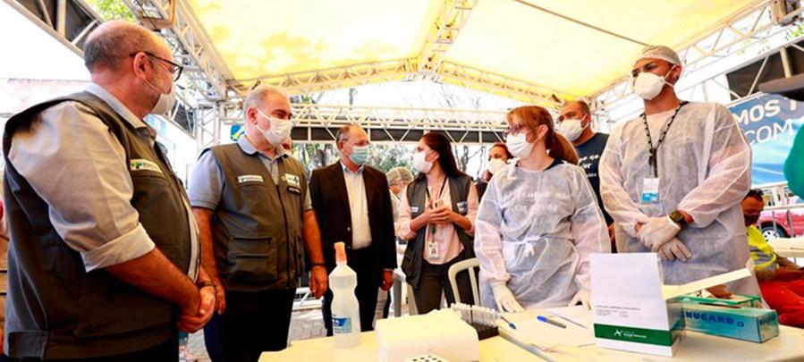 Imagem: Ministerio da saude Ministério da Saúde lança Plano Nacional de Expansão da Testagem para Covid-19