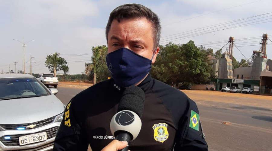 Imagem: PRF marcio Junior pva PRF libera tráfego em Primavera do Leste; apenas dois municípios registram bloqueios em MT
