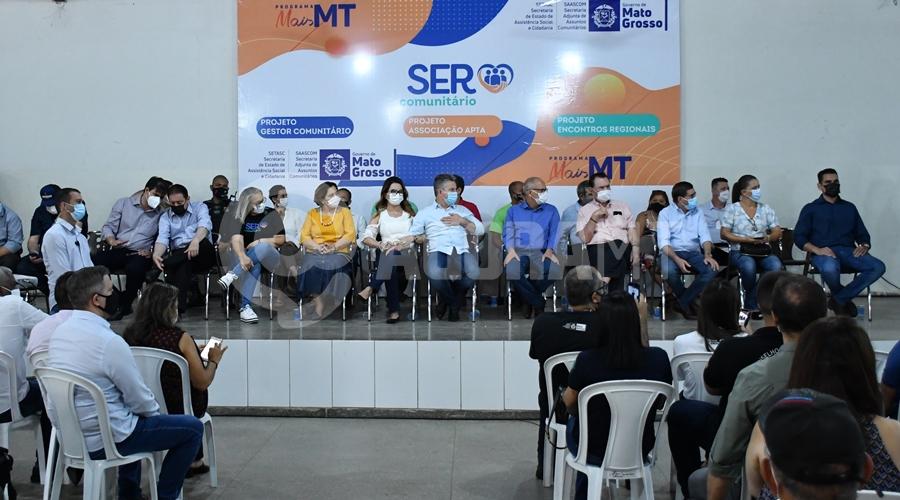 Imagem: Ser Comunitario autoridades Mauro Mendes abre evento na Uramb e vai discutir novas parcerias com a Prefeitura de Rondonópolis