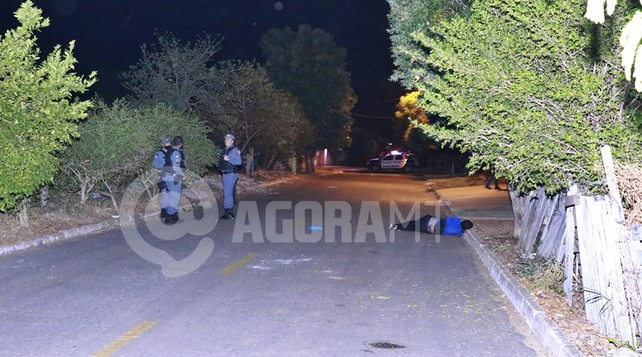 Imagem: Vitima de homicidio no bairro Jardim Itapua Jovem é assassinado com 7 facadas no abdômen em Rondonópolis