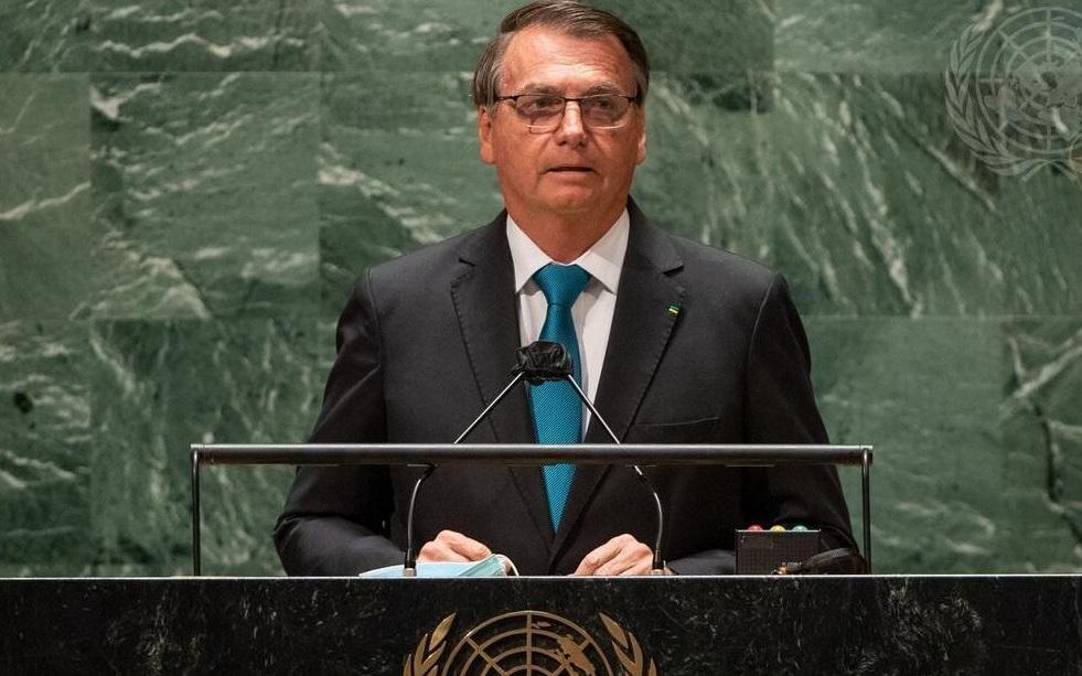 """Imagem: bolsonaro onu Deputado detona discurso: """"Vergonhoso; maior fake news da história"""""""