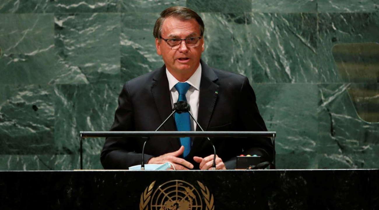 Imagem: bolsonaro onu Bolsonaro rebate críticas e convoca investidores em discurso na ONU