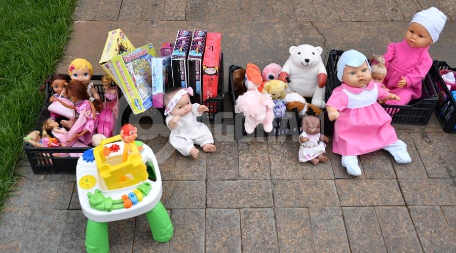 Imagem: d5b90c0c 4847 40ee adf7 3baadd067631 Campanha 'Brinquedo BOM' recebe doação do projeto 'Faça uma Criança Feliz'