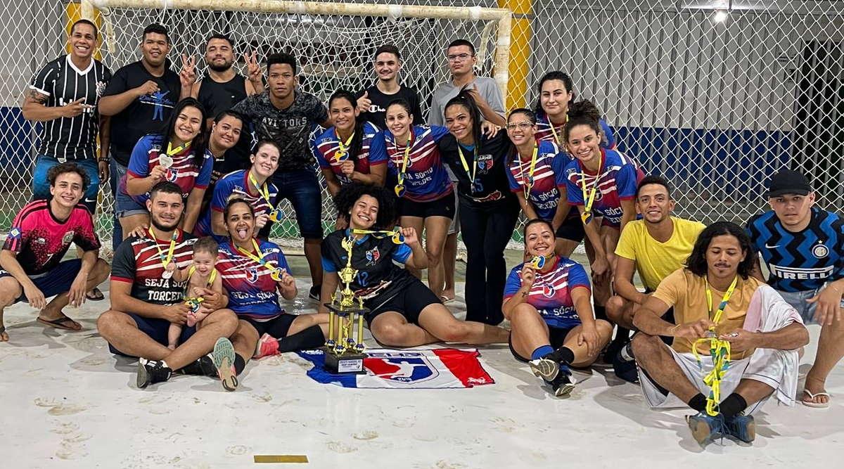 Imagem: handebol diamantino Equipe de Rondonópolis foi destaque em competição de handebol em Diamantino