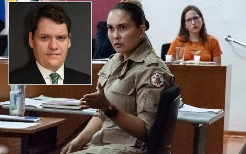 """Imagem: ledur rolim Defesa de tenente: """"Ledur era enérgica, mas não cabe falar em tortura ou castigo"""""""